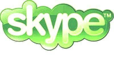 skype botón
