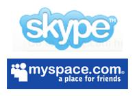 skype myspace