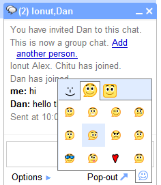 gmail chat groups emoticons