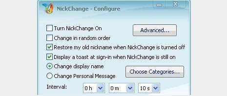 nickchange