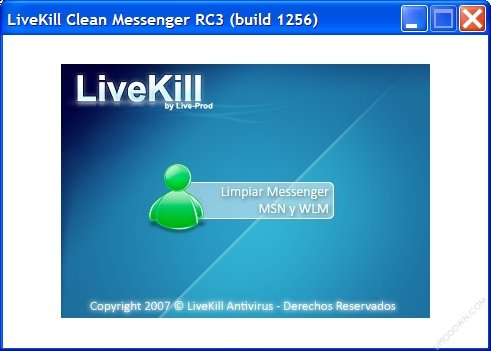 live kill clean messenger