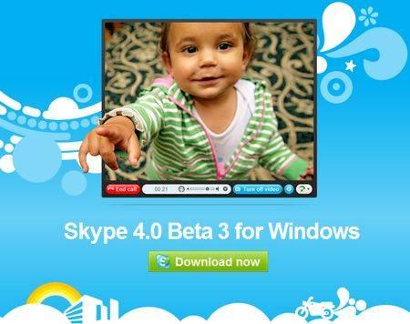 skype 40 beta 3