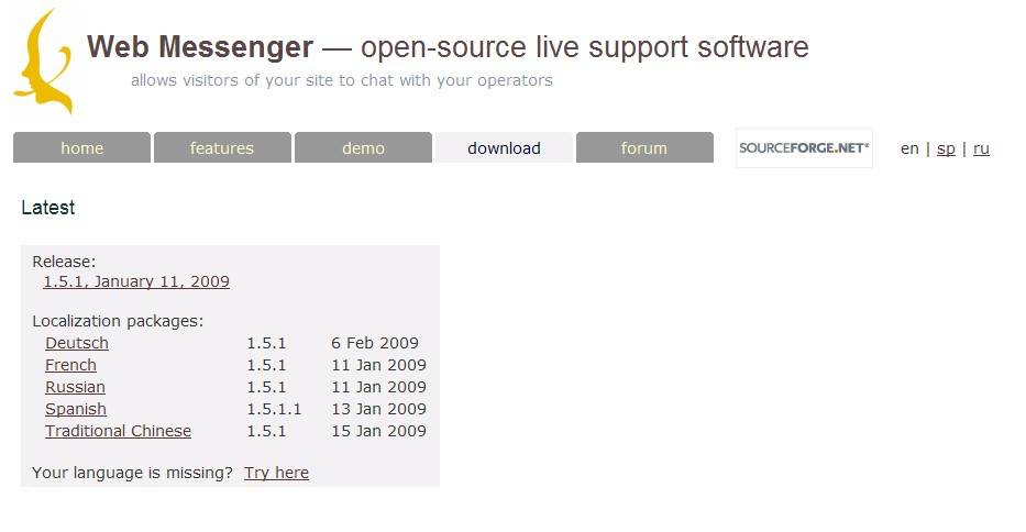open-web-messenger