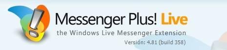 Lanzado Messenger Plus! Live 4.81
