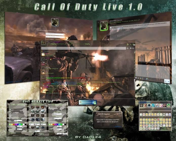 skin call of duty live