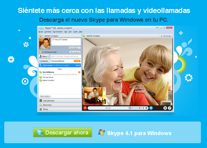 Skype beta para videollamadas download descargar