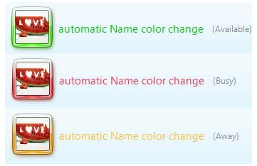 automatic name color