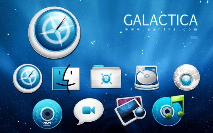 Galactica icons