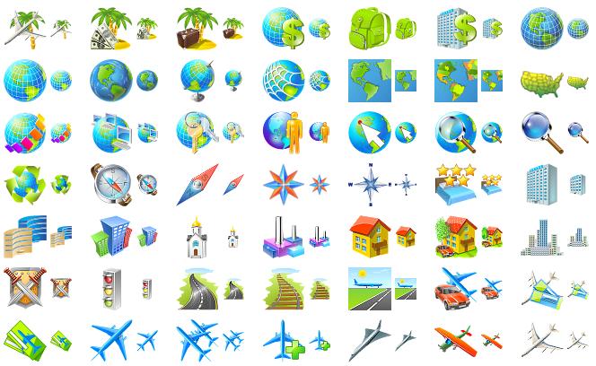 iconos de viajes1