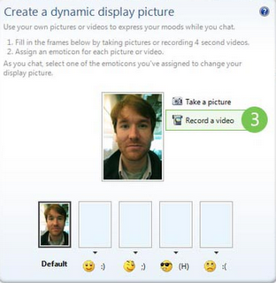 create dinamic display pictures
