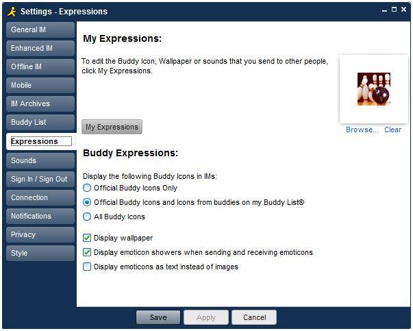 aim 7 expressions