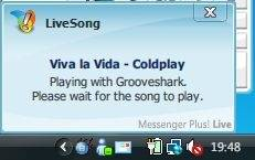 live song script