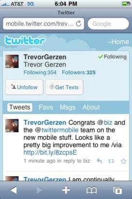 nuevo twitter movil