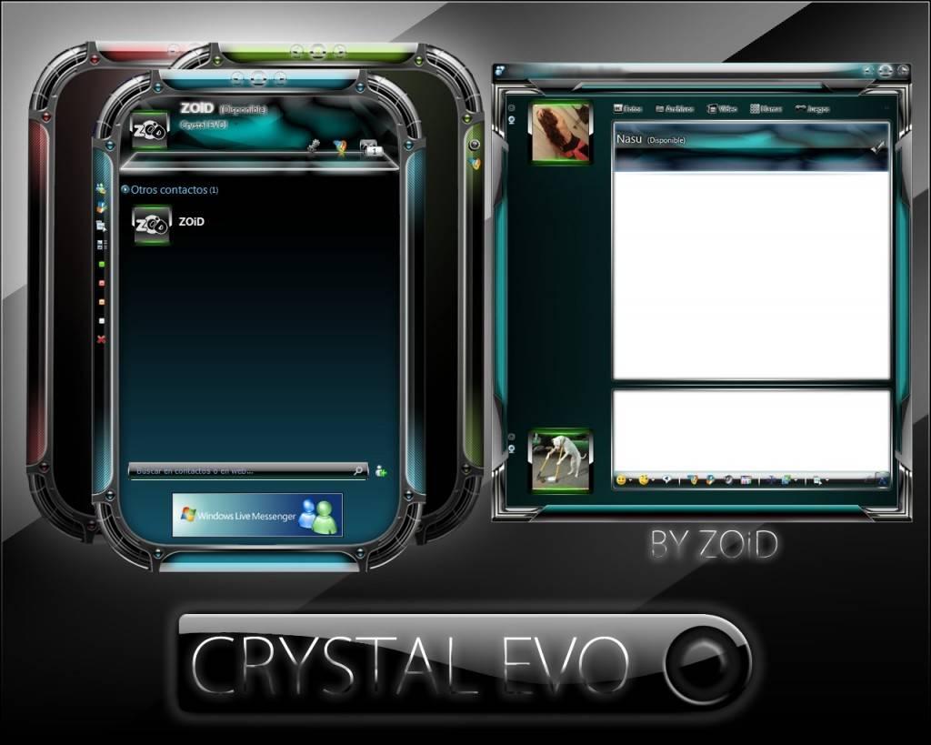skin cristal evo
