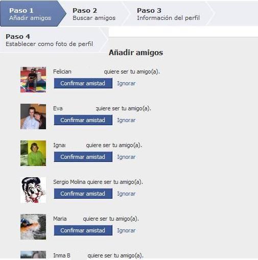 facebook solicitud amistad