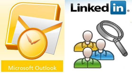 outlook linkedin