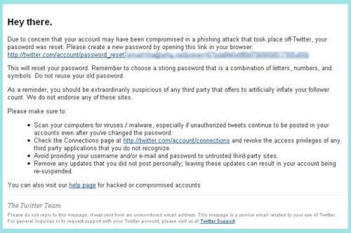 twitter bloquea cuentas phising