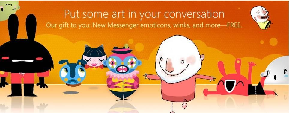 windows live paquetes gratuitos iconos