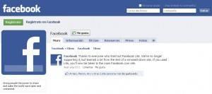 facebook lite desaparece