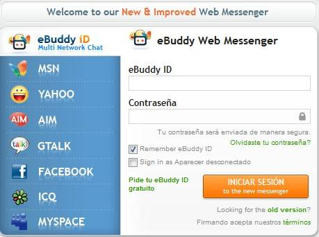 e messenger web: