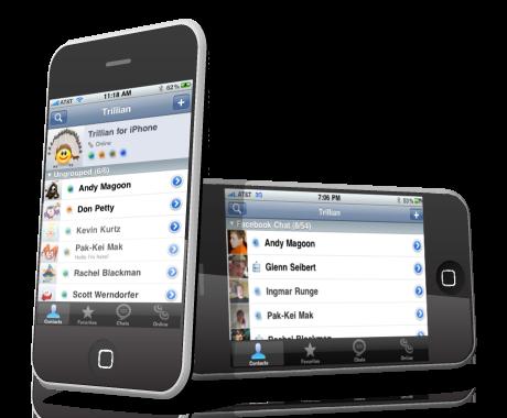 Nueva versión de Trillian 1.1 para iPhone