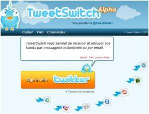 TweetSwitch