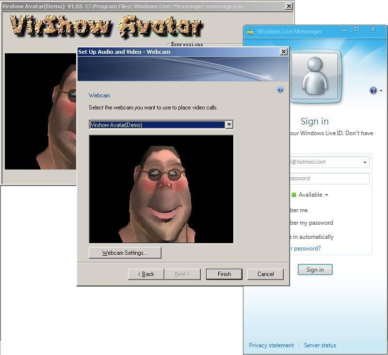 virshow avatar2