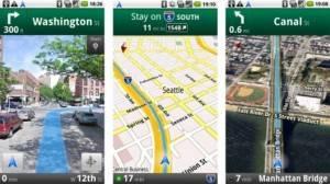 Maps Navigation, el servicio de GPS de Google para móviles