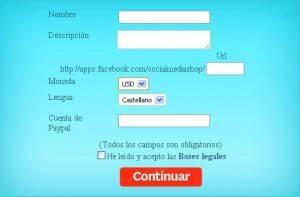 social shop registro