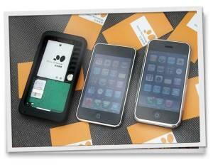 funda convierte un ipod touch en teléfono