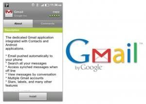 gmail actualizado para froyo