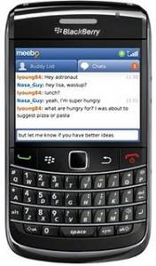 meebo para blackberry