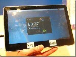 tablet nfs Npad