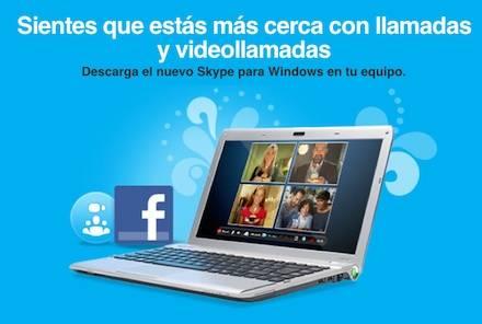 Skype 5.0 se integra con Facebook