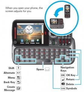 Motorola i886, primer Android con dos teclados físicos y tecnología IDEN