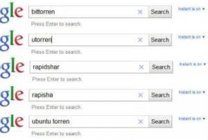 Google restringe búsquedas de sitios de descargas con contenidos piratas