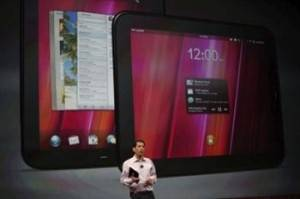 HP presentó el TouchPad, un tablet con WebOS