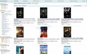Amazon estaría desarrollando servicio de streaming de películas
