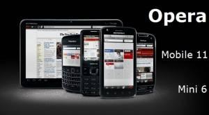 Opera lanza nuevas versiones de sus navegadores móviles