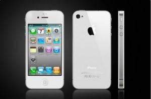 white iphone 4 apple
