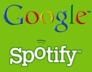 Google podría aliarse a Spotify para lanzar Google Music