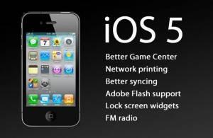iOS 5: Apple muestra un adelanto