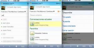 windows live messenger móviles
