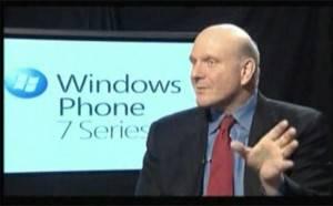 Steve Ballmer reconoce fracaso de Windows Phone 7