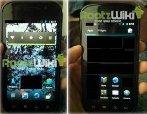 Android Ice Cream Sandwich: Sus primeras imágenes