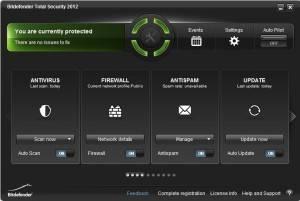 BitDefender Total Security 2012 free download serial key