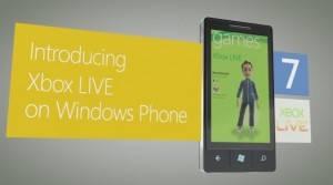 Xbox Live de Windows Phone 7 Mango interactuará con la Xbox 360