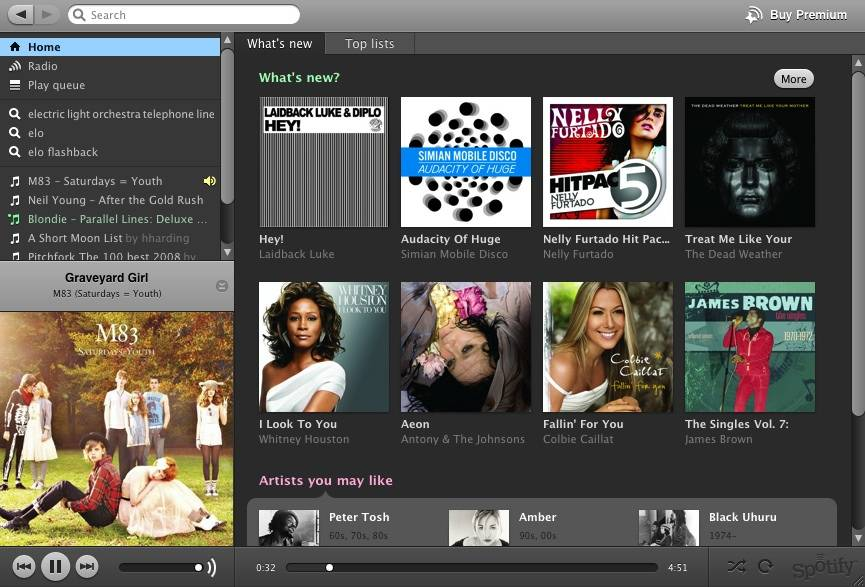 Spotify hed