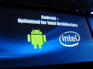 Google se alía a Intel para optimizar Android para los procesadores de la compañía