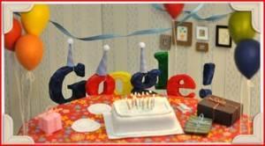 doodle 13 cumpleaños de Google
